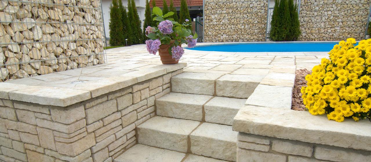 Natursteine für Stufen | Berger Bauelemente Barsinghausen
